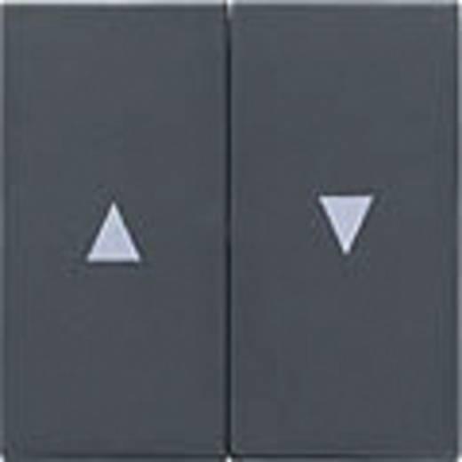 GIRA Abdeckung Jalousie-Schalter/-Taster System 55, Standard 55, E2, Event, Event Klar, Event Opak, Esprit, ClassiX Anthrazit 029428