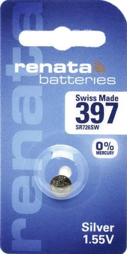 Knopfzelle 397 Silberoxid Renata SR59 32 mAh 1.55 V 1 St.