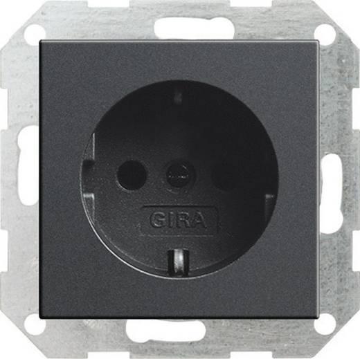 GIRA Einsatz Schutzkontakt-Steckdose System 55, Standard 55, E2, Event, Event Klar, Event Opak, Esprit, ClassiX Anthrazit 018828