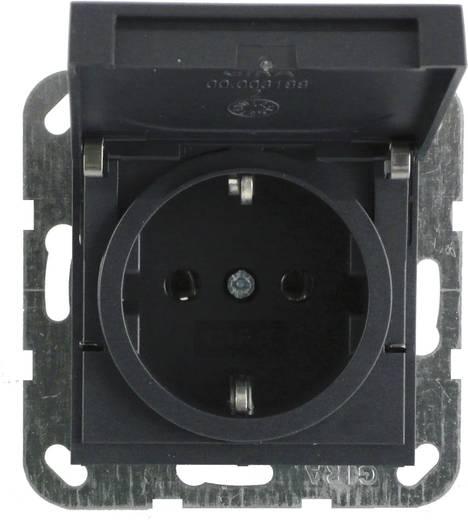 GIRA Einsatz Schutzkontakt-Steckdose System 55, Standard 55, E2, Event, Event Klar, Event Opak, Esprit, ClassiX Anthraz