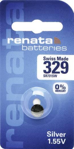 Knopfzelle 329 Silberoxid Renata SR731 37 mAh 1.55 V 1 St.