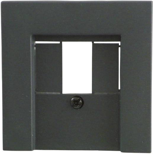 GIRA Abdeckung TAE-Steckdose, USB-Steckdose System 55, Standard 55, E2, Event, Event Klar, Event Opak, Esprit, ClassiX Anthrazit 027628