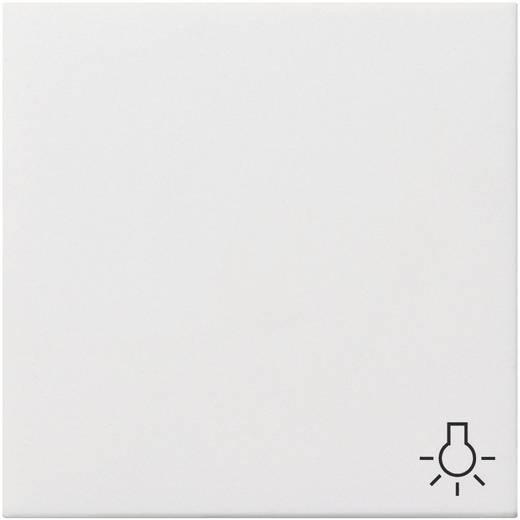 """GIRA Abdeckung Symbolwippe """"Licht"""" Flächenschalter Reinweiß 0285112"""