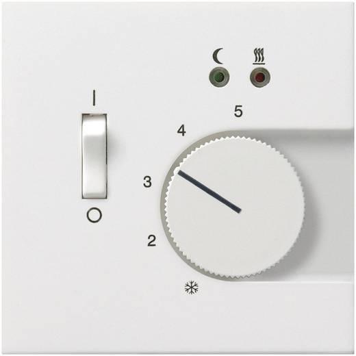 GIRA Einsatz Thermostat Flächenschalter Reinweiß 0392112