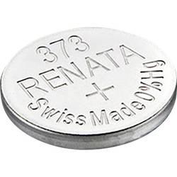 Knoflíková baterie na bázi oxidu stříbra Renata SR68, velikost 373, 29 mAh, 1,55 V