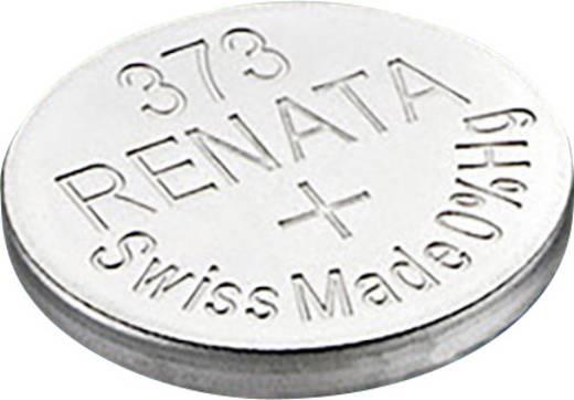 Knopfzelle 373 Silberoxid Renata SR68 29 mAh 1.55 V 1 St.