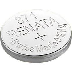 Knoflíková baterie na bázi oxidu stříbra Renata SR68, velikost 371, 35 mAh, 1,55 V