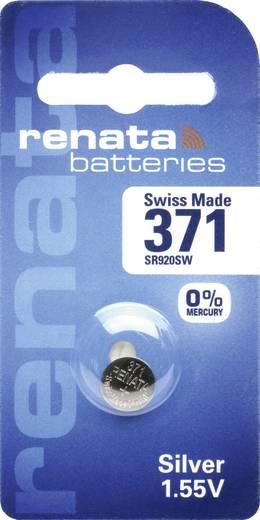Knopfzelle 371 Silberoxid Renata SR69 35 mAh 1.55 V 1 St.