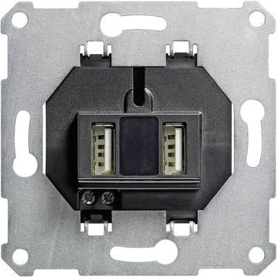GIRA Einsatz USB-Steckdose Standard 55, E2, Event Klar, Event, Event Opak,  Esprit, ClassiX, System 55 235900