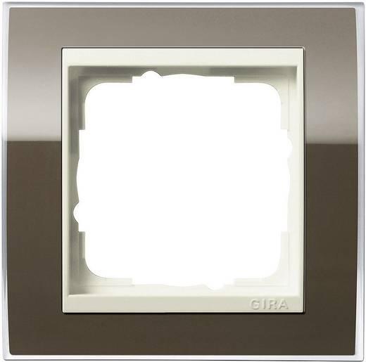 GIRA 1fach Rahmen Event, Standard 55 Braun 0211761