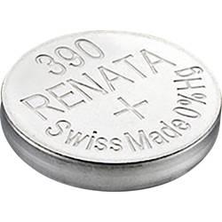 Knoflíková baterie na bázi oxidu stříbra Renata SR54, velikost 390, 60 mAh, 1,55 V