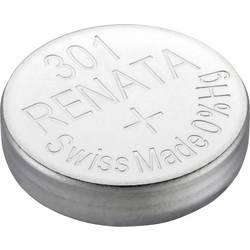 Knoflíková baterie na bázi oxidu stříbra Renata SR43, velikost 301, 130 mAh, 1,55 V