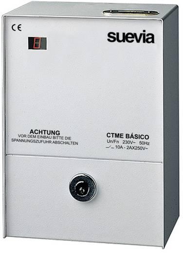 Münzzeitzähler digital Tagesprogramm 1 min - 150 h Suevia CTME Basic 2300 W IP20