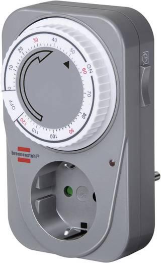 Steckdosen-Zeitschaltuhr analog Tagesprogramm 1 bis 120 min Brennenstuhl Countdown Timer 3680 W IP20