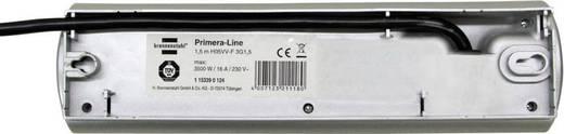 Brennenstuhl 1153390128 Steckdosenleiste mit Schalter 8fach Silber Schutzkontakt