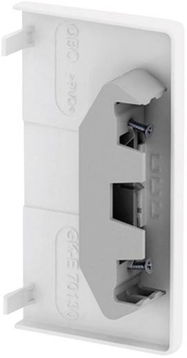 Brüstungskanal Endstück (B x H) 70 mm x 130 mm OBO Bettermann 6274570 1 St. Reinweiß
