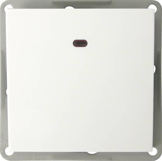 GAO Einsatz Kontrollschalter, Wechselschalter Modul Weiß EFP100AL