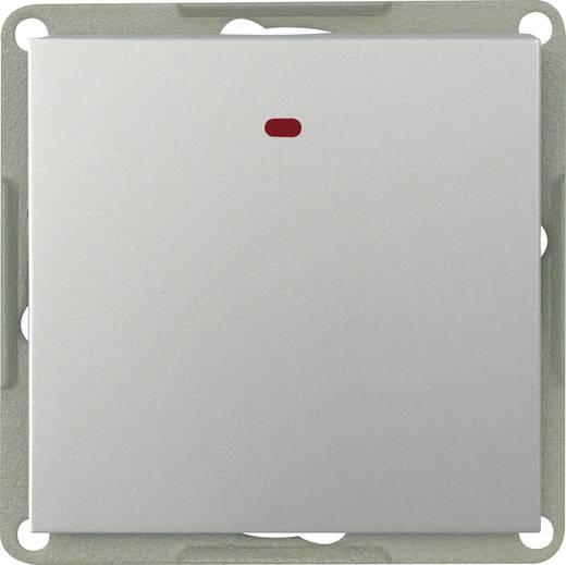GAO Einsatz Kontrollschalter, Wechselschalter Modul Silber EFP100AL