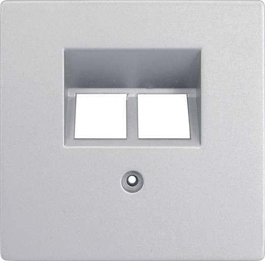 GAO Abdeckung UAE-/IAE-/ISDN-Steckdose Modul Silber EFP800ISDN cover