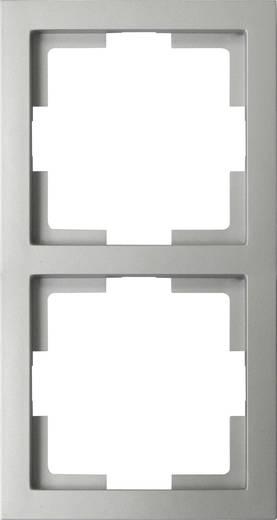 GAO 2fach Rahmen Modul Silber EFT002silver