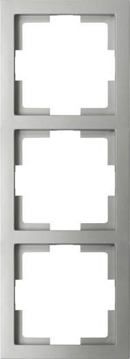 GAO 3fach Rahmen Modul Silber EFT003silver