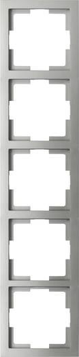 GAO 5fach Rahmen Modul Silber EFT005silver