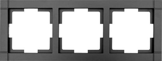 GAO 3fach Rahmen Modul Schwarz EFQ003black