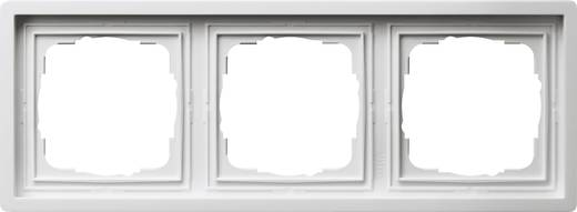 GIRA 3fach Rahmen Flächenschalter Weiß 0213112