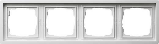 GIRA 4fach Rahmen Flächenschalter Weiß 0214112