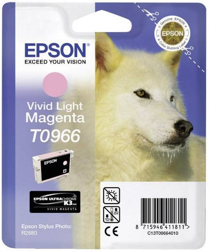 Epson Tinte T0966 Original Light Magenta C13T09664010