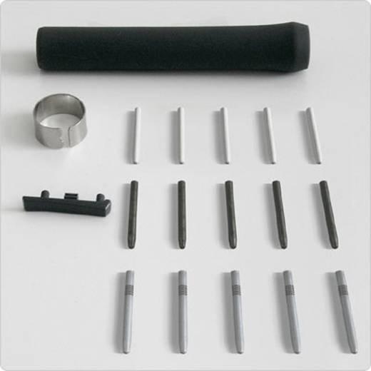 Grafiktablett-Eingabestift-Ersatzspitzen Wacom Intuos3 Pen Accessory Kit Silber, Schwarz, Grau, Weiß
