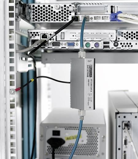 Überspannungsschutz-Zwischenstecker Überspannungsschutz für: Verteilerschrank, Netzwerk (RJ45) Phoenix Contact DT-LAN-CAT.6+ 2881007 2 kA