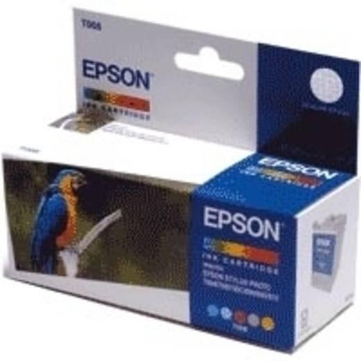 Epson Tinte Cartouche d'encre couleur T008 Original Gelb, Magenta, Hell Magenta, Cyan, Hell Cyan C13T00840110