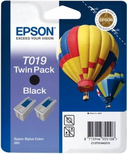 Epson Original Twinpack Black T019 für den Drucker Stylus Color 880
