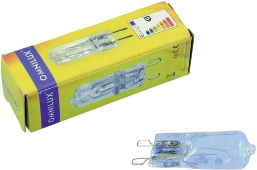 Halogen Lichteffekt Leuchtmittel Omnilux 88294206 230 V G9 42 W Weiß