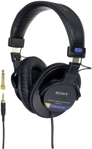 studio kopfh rer sony mdr 7506 over ear schwarz. Black Bedroom Furniture Sets. Home Design Ideas