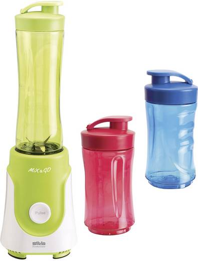 Smoothie-Maker Silva Homeline SM 7500 Mix & Go 250 W Grün, Weiß