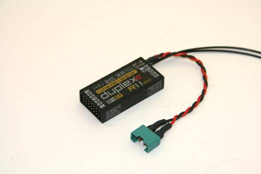 11-Kanal Empfänger Jeti Duplex R11 EPC 2,4 GHz Stecksystem JR