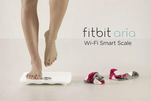 Analysewaage FitBit FB201W aria Wägebereich (max.)=158 kg Weiß