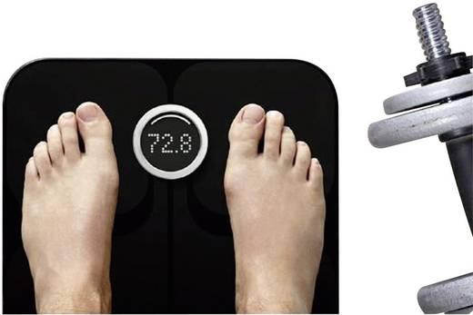 Körperanalysewaage FitBit Aria Wägebereich (max.)=158 kg Schwarz