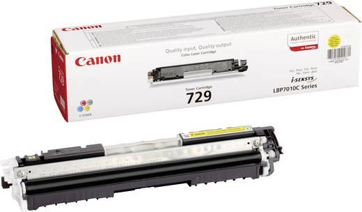 Canon Toner 729 Y 4367B002 Original Gelb 1000 Seiten