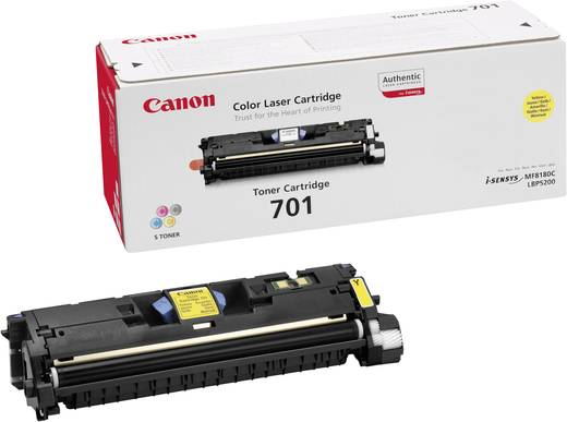 Canon Tonerkassette 701 Y