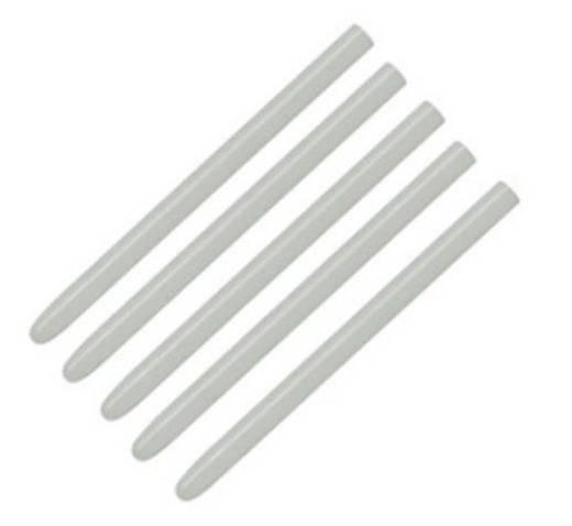 Grafiktablett-Eingabestift-Ersatzspitzen Wacom PSI-A007 Weiß