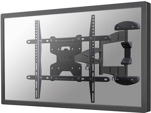 "TV-Wandhalterung 81,3 cm (32"") - 152,4 cm (60"") Neigbar+Schwenkbar, Rotierbar NewStar Products LED-W500SILVER"