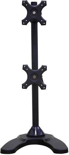 """Monitor-Standfuß 25,4 cm (10"""") - 68,6 cm (27"""") Neigbar+Schwenkbar, Rotierbar NewStar Products FPMA-D700DDV Höhenverstell"""