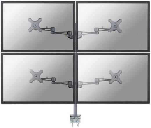 """4fach Monitor-Tischhalterung 25,4 cm (10"""") - 68,6 cm (27"""") Neigbar+Schwenkbar, Rotierbar NewStar Products FPMA-D935D4"""