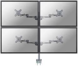 """Stolní držák na monitor, 25,4- 66 cm (10"""" - 26"""") NewStar FPMA-D935D4, stříbrný"""