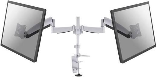 """2fach Monitor-Tischhalterung 25,4 cm (10"""") - 68,6 cm (27"""") Neigbar+Schwenkbar, Rotierbar NewStar Products FPMA-D950D Gas"""