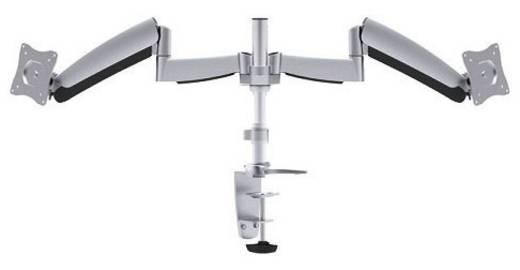 """2fach Monitor-Tischhalterung 25,4 cm (10"""") - 68,6 cm (27"""") Neigbar+Schwenkbar, Rotierbar NewStar Products FPMA-D950D Gasdruck-Technik"""
