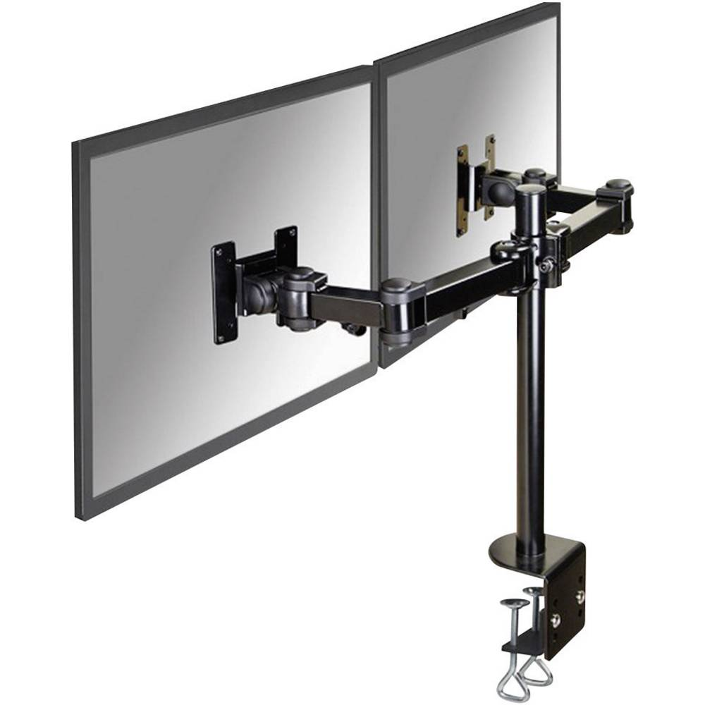Supporto da tavolo per monitor 2 scomparti 25 4 cm 10 68 6 cm 27 inclinabile girevole - Supporto girevole per tavolo ...